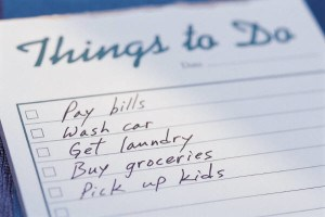Things to Do - List