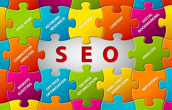 pieces of the SEO jigsaw puzzle