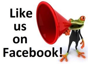 Like us on Facebook!!!