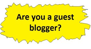 guest blogger question