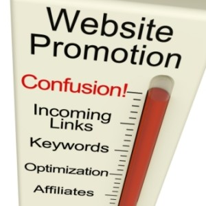 Website Promotion Confusion Meter