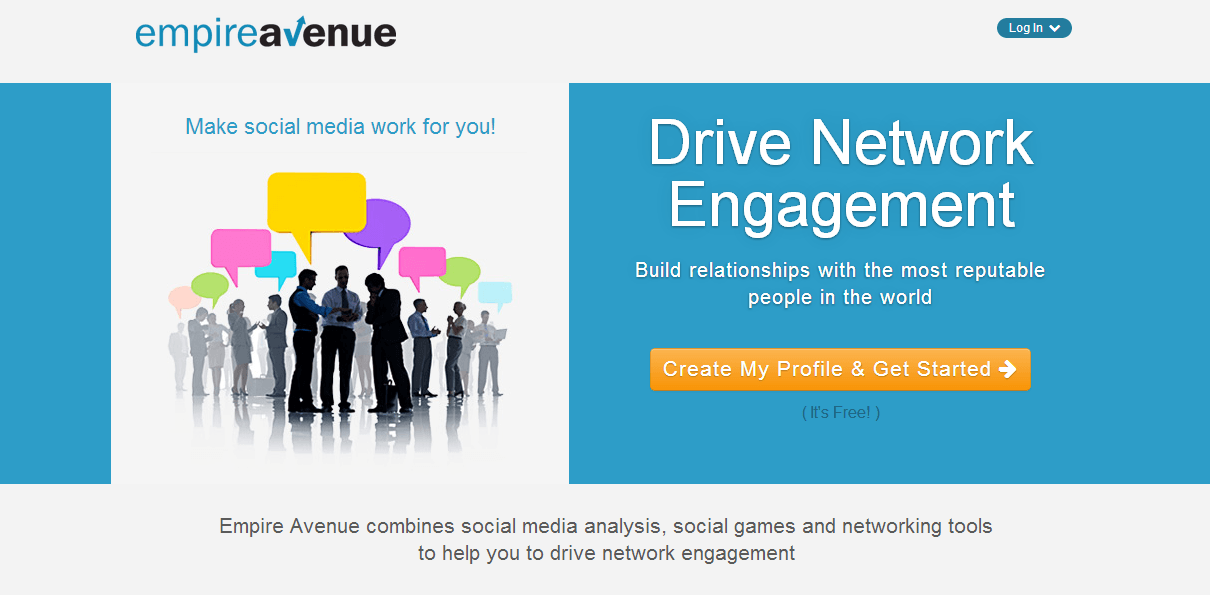 Empire Avenue : Increase Your Social Media Audience and Enjoy the Game