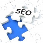 Seo Puzzle Showing E-marketing And Promotions