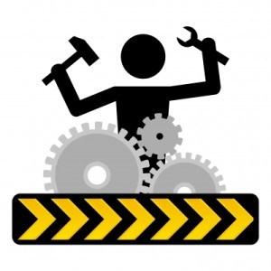 Under Construction - Man working