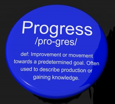 Progress Definition Button
