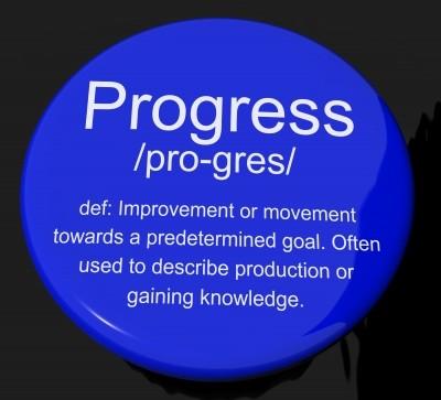 Progress Definition Button