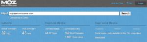 MOZ Analysis for NoPassiveIncome screenshot