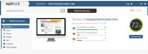 WOORank for NoPassiveIncome screenshot