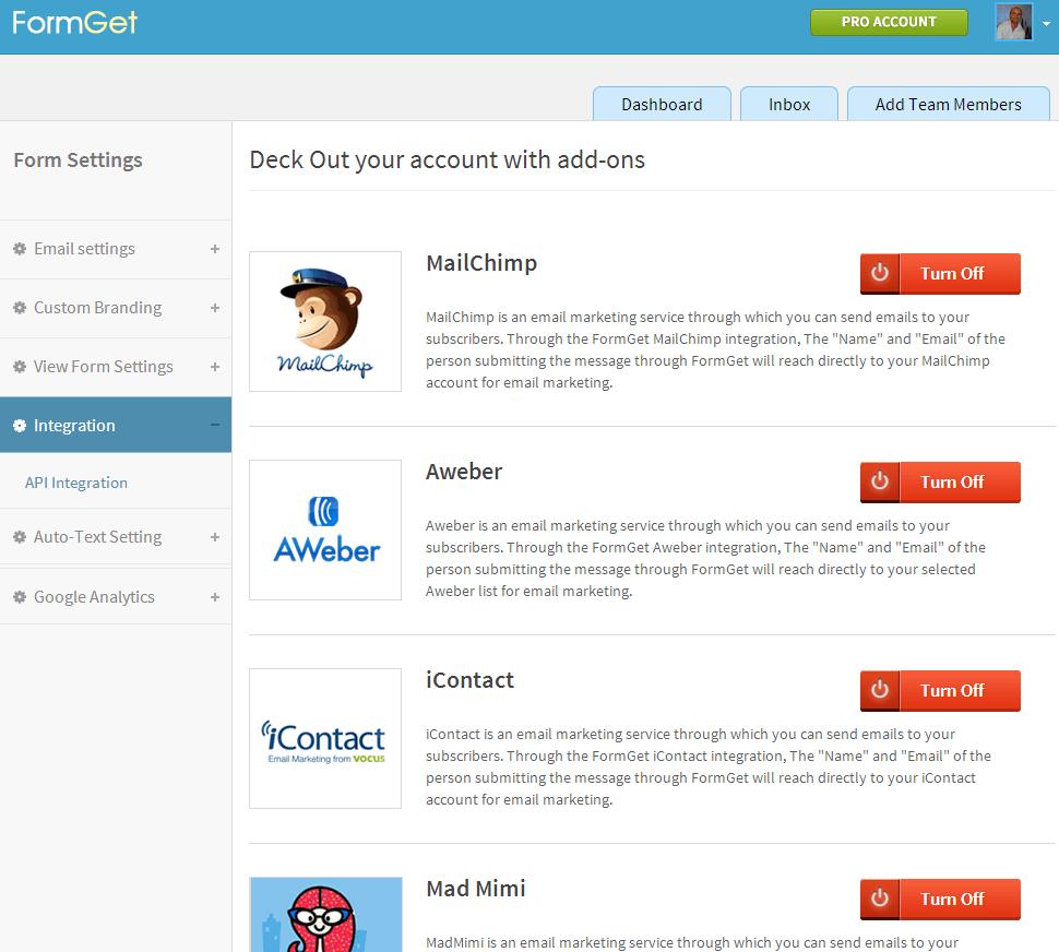 API integration with your autoresponder