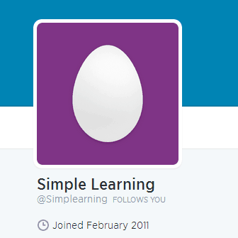 Example of a Twitter anonymous profile