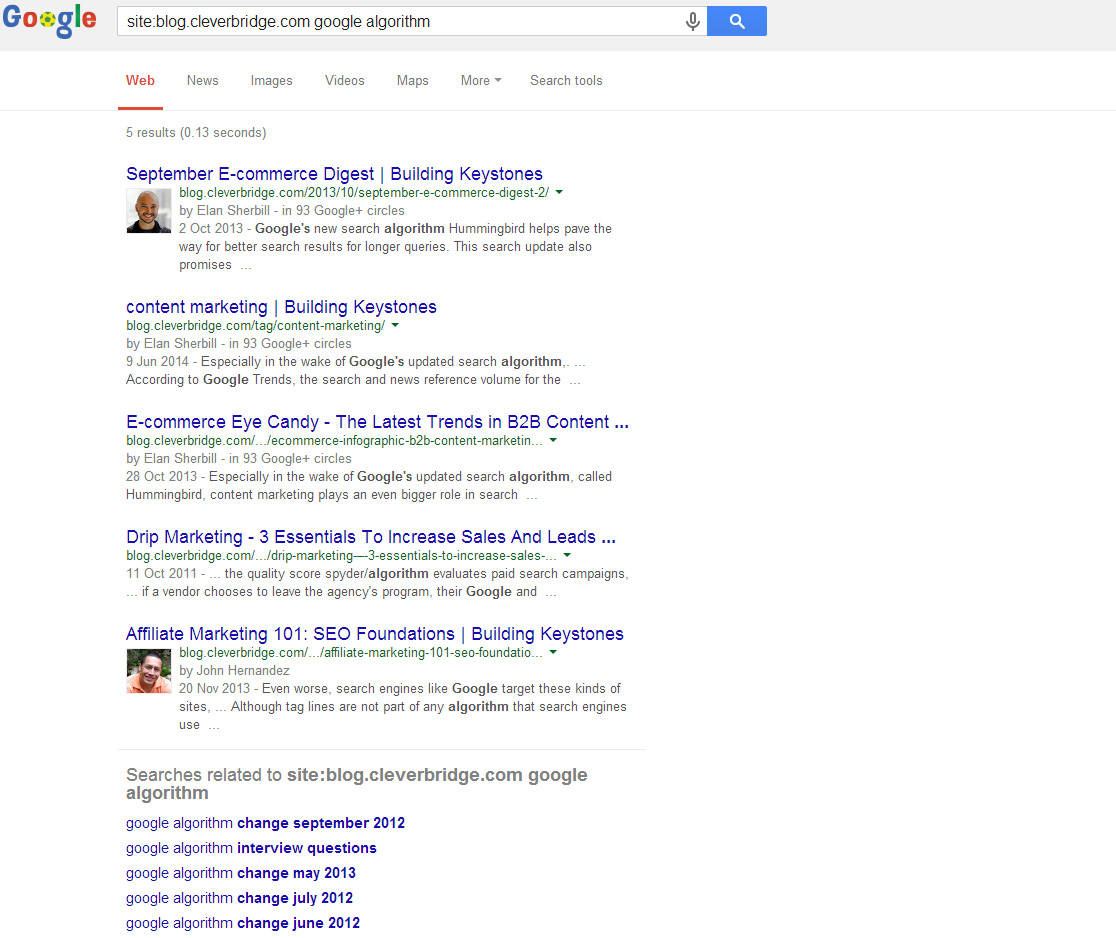Site Operator in Google Search