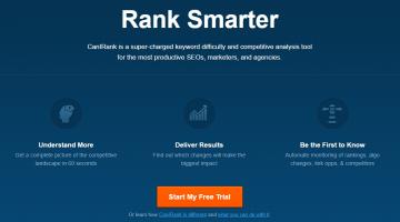 CanIRank homepage screenshot