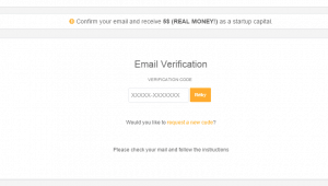 Screenshot for confirming your email at Beenar