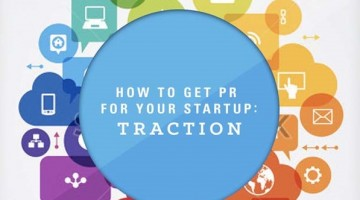 """""""How to get PR for your startup"""" eBook cover"""