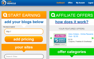 LinkVehicle homepage screenshot