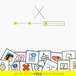 X theme homepage screenshot