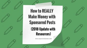 How to REALLY Make Money with Sponsored Posts (2018 Update with Resources)