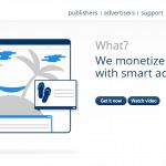 Infolinks homepage screenshot