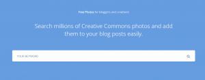 PHOTOPIN homepage screenshot