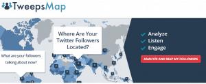 TweepsMap homepage screenshot