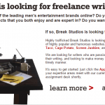 Are You a Freelance Writer? Check These 20 Sites that Pay You to Write
