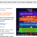 Start a New Site & Double Your Money Challenge: From Zero to Blogging Hero #MBUstorm