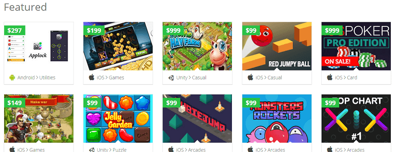 apps featured at sellmyapp