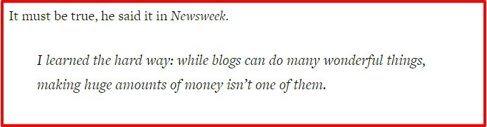 Why You Can t Make Money Blogging Copyblogger