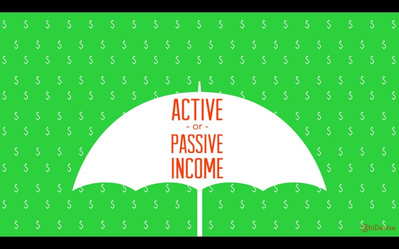 active or passive income