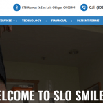 10 Effective Tips to Improve Your Business Website Inspired by SLO Smiles