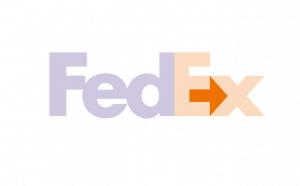 FedEx logo with arrow displayed